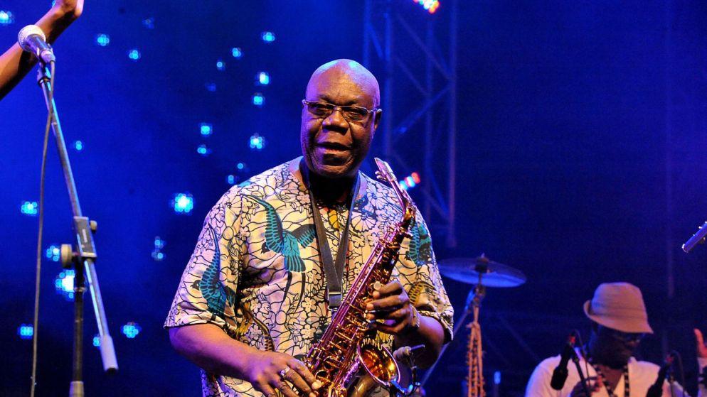 le-saxophoniste-camerounais-manu-dibango-le-15-juillet-2011-a-quebec-city_5413209
